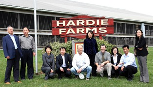 China Agriculture and Dairy Delegation